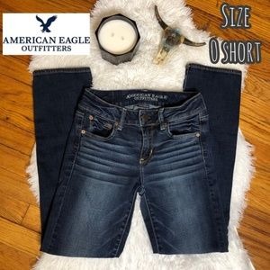 American Eagle Outfitters straight leg denim jeans